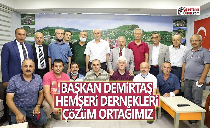 Başkan Demirtaş,Kentin kültür gelişiminde STK'ların önemi çok