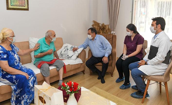 Büyükşehir Belediyesi'nden evde fizyoterapi hizmeti