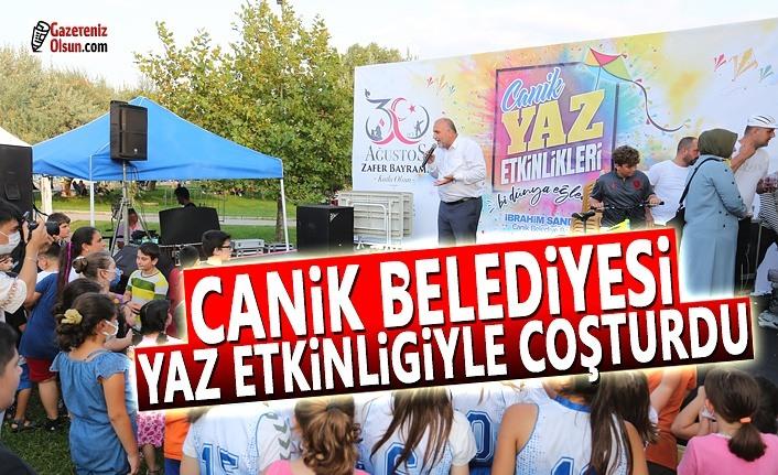 Canik Belediyesi 30 Ağustos Zafer Bayramı Etkinlikleri Coşturdu