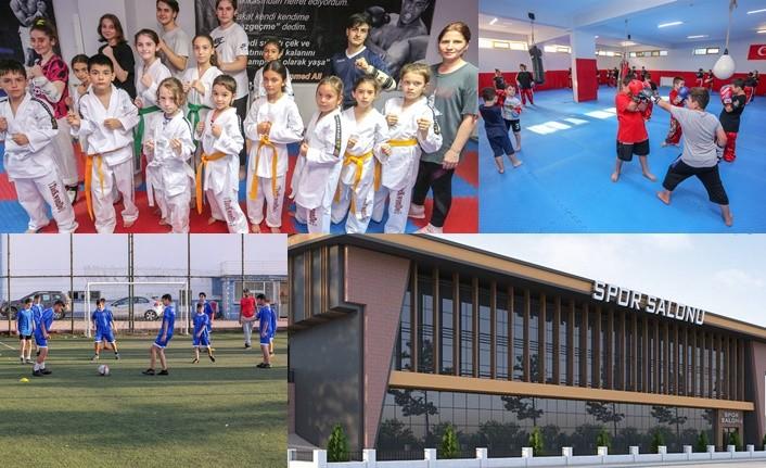 Canik Belediyesi Yaz Spor Okullar Devam Ediyor