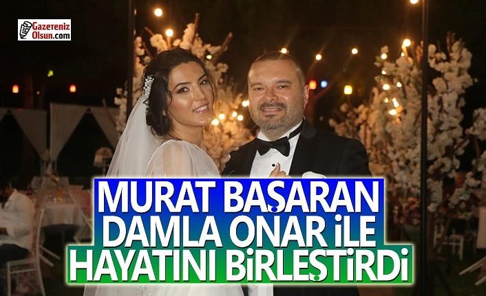 Gazeteci Murat Başaran Damla Onar ile Mutluluğa Evet Dedi