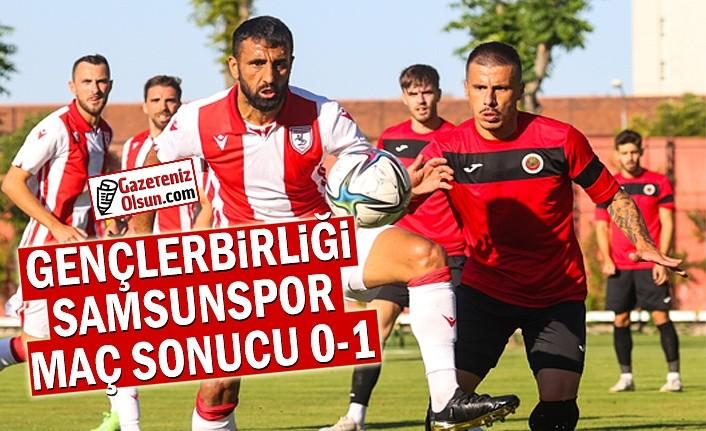 Gençlerbirliği ve Samsunspor Maç Sonucu 0-1