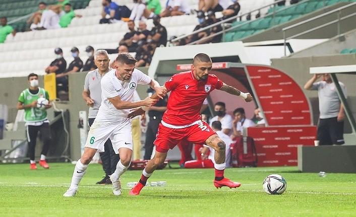 Giresunspor Samsunspor hazırlık maçı sonucu