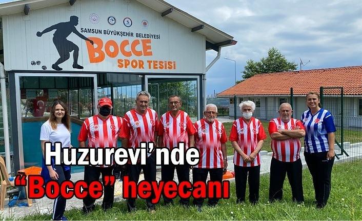 """Huzurevi'nde """"Bocce"""" heyecanı"""