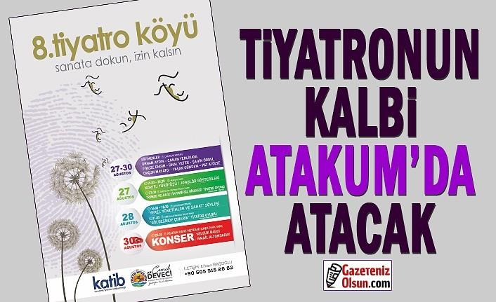 Karadenizli tiyatrocular Atakum'da buluşuyor