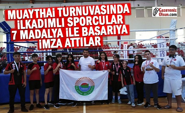 Muaythai Turnuvasında İlkadımlı Sporcular Başarıya imza attı