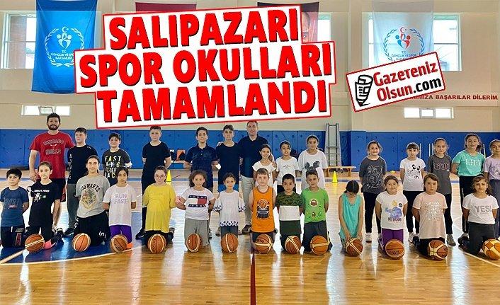 Salıpazarı Spor Okulları Tamamlandı