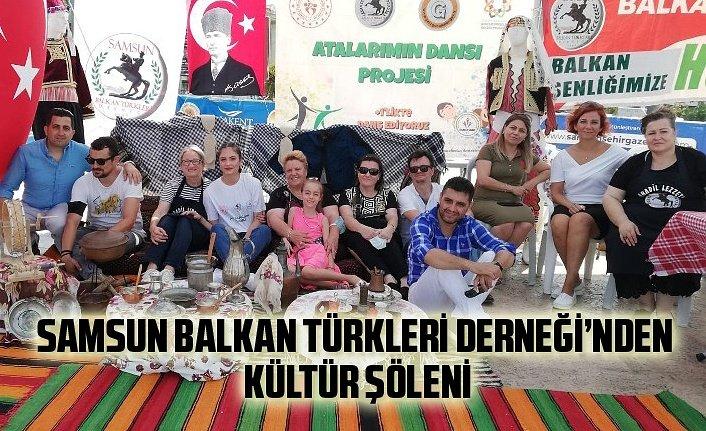 Samsun Balkan Türkleri Derneği'nden muhteşem şölen