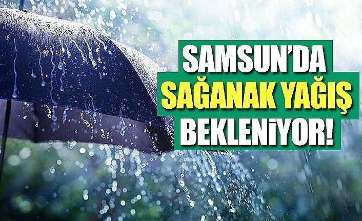 Samsun'da akşam saatlerinde sağanak yağış uyarısı