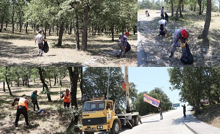 Samsun'da orman yangınına karşı tedbir alınıyor