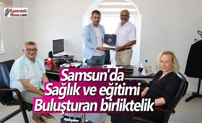 Samsun'da sağlık ve eğitimi buluşturan birliktelik