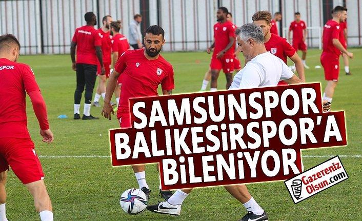 Samsunspor, Balıkesirspor'a Bileniyor