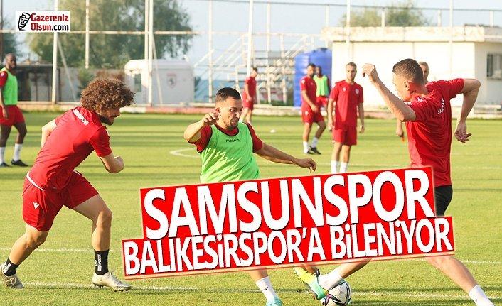 Samsunspor Balıkesirspor Maçına Hazırlanıyor