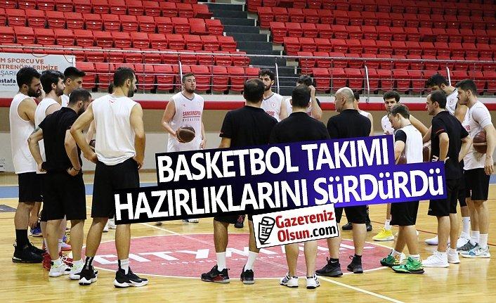 Samsunspor Basketbol Takımı Yeni Sezona Hazırlanıyor