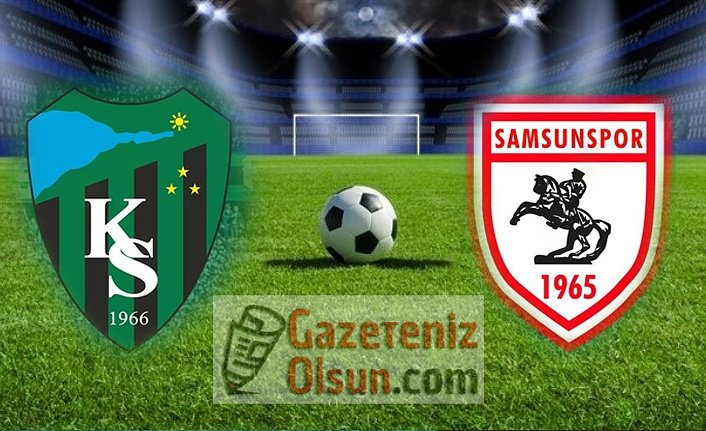 Samsunspor Kocaelispor maçı ne zaman saat kaçta hangi kanalda?