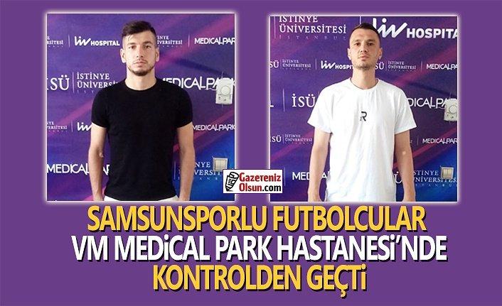 Samsunsporlu Futbolcular Sağlık Kontrolünde Geçti
