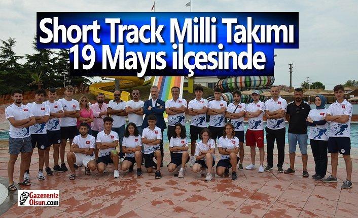 Short Track Milli Takımı 19 Mayıs İlçesinde