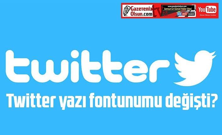 Twitter yazı fontunumu değişti? Twitter yazı fontu nedir? Chirp font karakter
