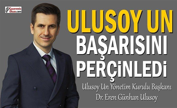 Ulusoy Un, Başarısını Perçinledi