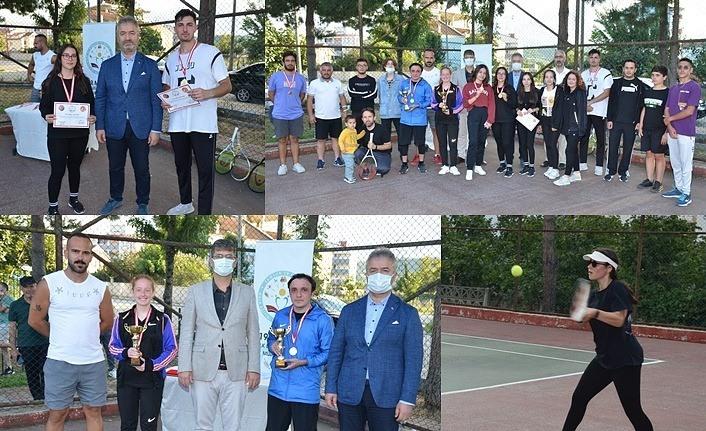 19 Mayıs İlçesinde Tenis Turnuvası Düzenlendi - 19 Mayıs Haber