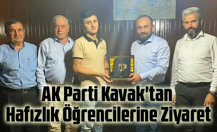 AK Parti Kavak'tan Hafızlık Öğrencilerine Ziyaret