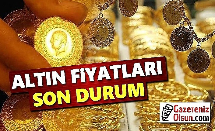 Altın Fiyatlarında Son Durum, Çeyrek Altın Kaç Lira Oldu?