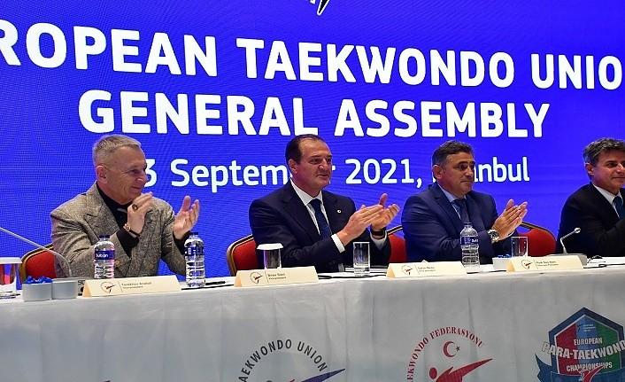 Avrupa Taekwondo Birliği Metin Şahin güven tazeledi