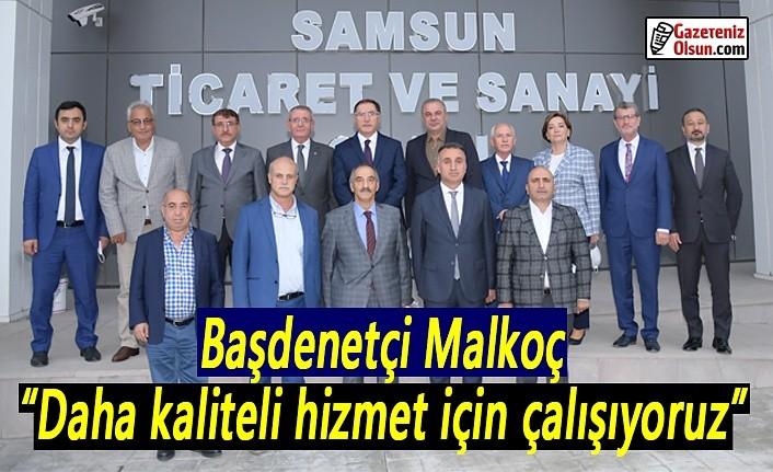 Başdenetçi Şeref Malkoç: Daha kaliteli hizmet için çalışıyoruz