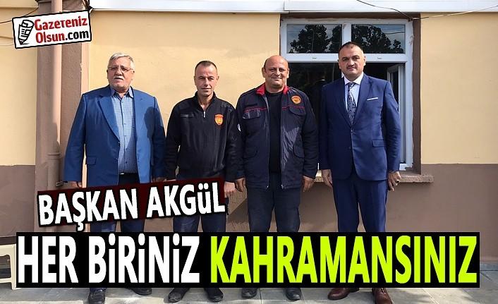 Başkan Akgül İtfaiye gününü kutladı