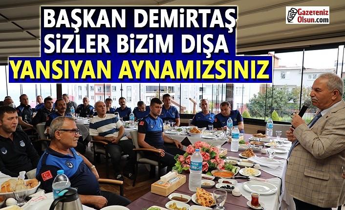 Başkan Demirtaş, Zabıtaların Zabıta Haftasını Kutladı
