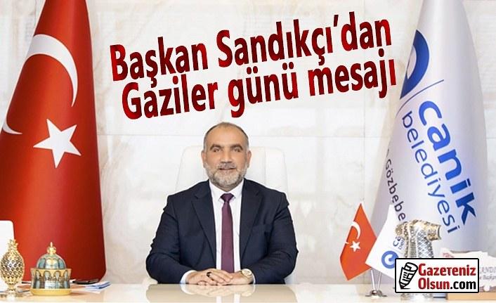 Başkan İbrahim Sandıkçı'nın 19 Eylül Gaziler Günü Mesajı