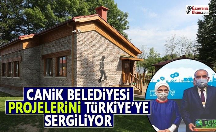 Canik Belediyesi Projelerini Türkiye'ye Sergiliyor