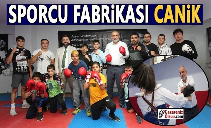 Canik'e 500 Kişilik Yeni Spor Salonu