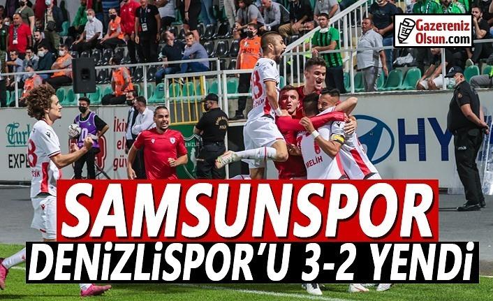 Denizlispor Samsunspor'a 3-2 Yenildi