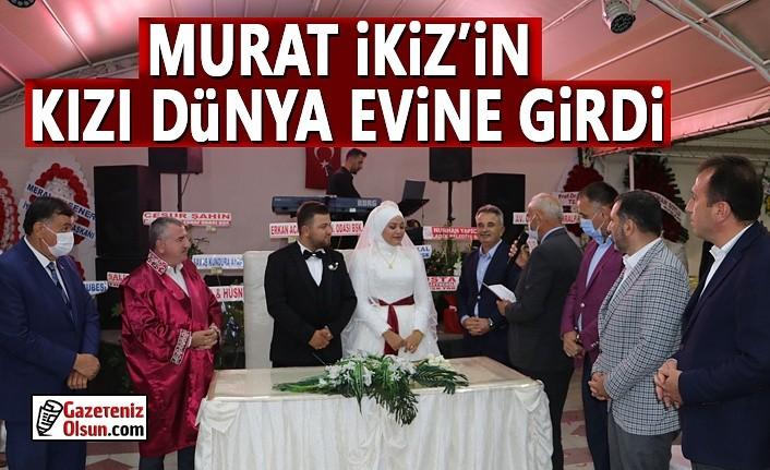 Eski Havza Belediye Başkanı İkiz'in kızı dünya evine girdi