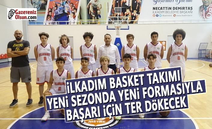 İlkadım Basket Takımı Yeni Formasıyla Sahalarda