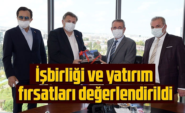 Çek -Türk İşbirliği ve yatırım fırsatları değerlendirildi
