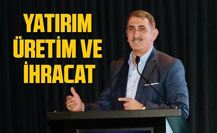 Milletvekili Köktaş: Yatırım, üretim ve ihracat merkezi!