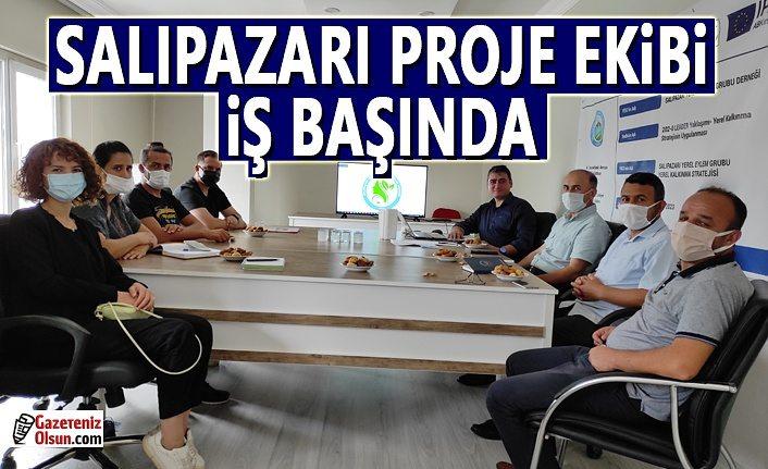 Salıpazarı Proje Ekibi Fikir Atölyesi ilk toplantısını yaptı