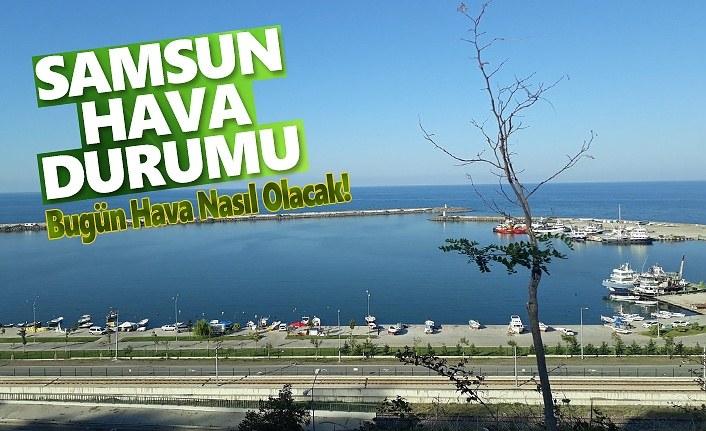 Samsun'da bugün bahar havası var, Yağışlar Yarın Başlıyor