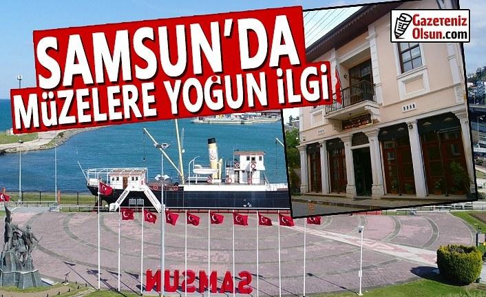 Samsun'da Müzelere Yoğun İlgi