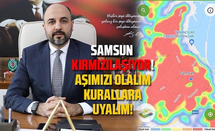 Samsun'da vaka sayısı artıyor mu? (30 Eylül Perşembe)