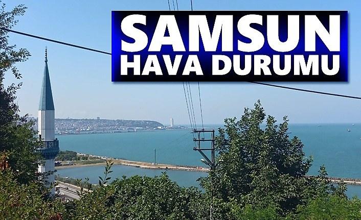 Samsun Hava Durumu, 24 Eylül Samsun'da Hava Nasıl!