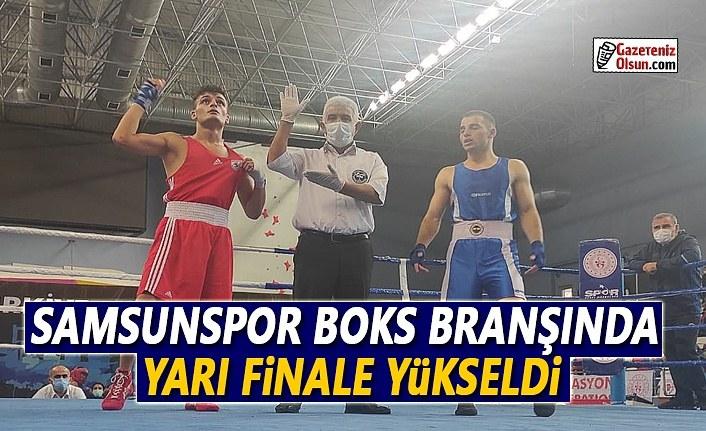 Samsunspor Boks Branşında Yarı Finale Yükseldi