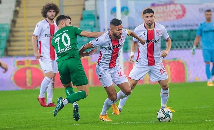 Samsunspor Bursaspor maç sonucu 1-4