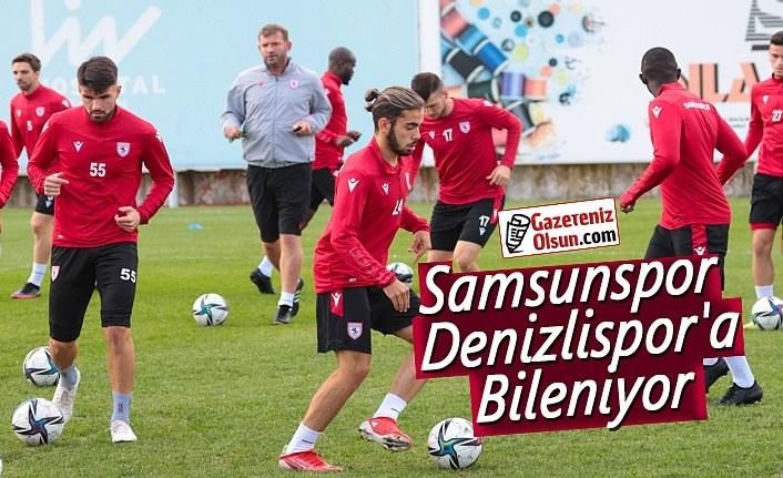 Samsunspor Denizlispor'a Bileniyor