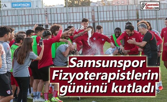 Samsunspor, Fizyoterapistlerin gününü kutladı