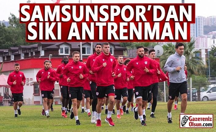 Samsunspor Gençlerbirliği Maçına Hazırlanıyor