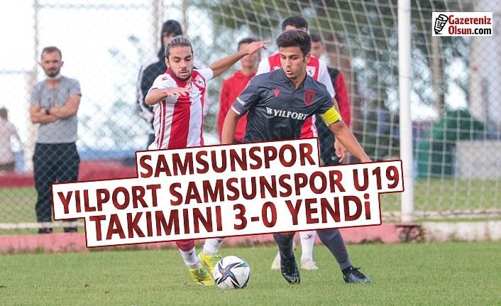 Samsunspor, Yılport Samsunspor U19'u 3-0 Yendi