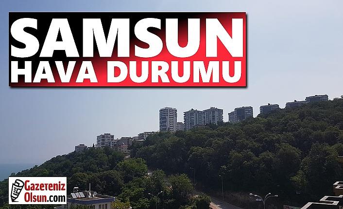 11 Ekim Pazartesi Samsun'da Hava Durumu